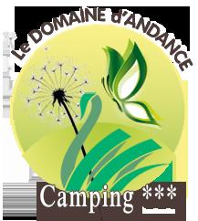 Logo camping d'Andance