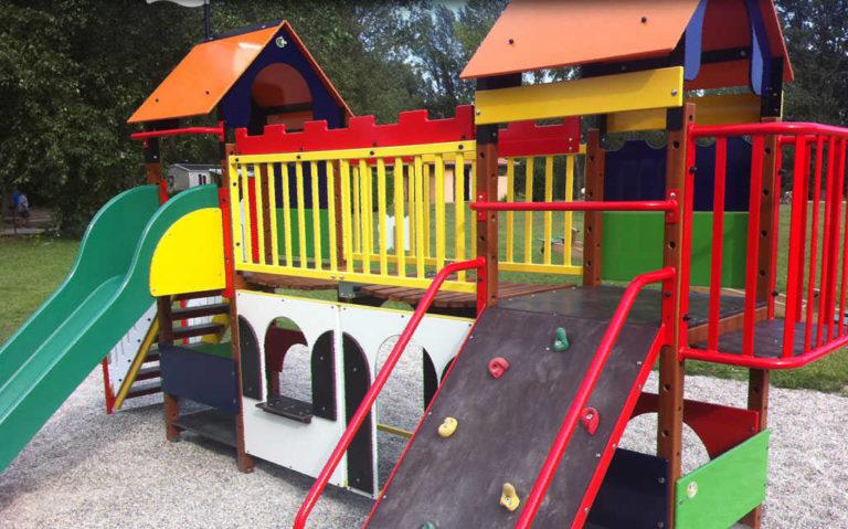 Jeux pour enfant camping d'Andance