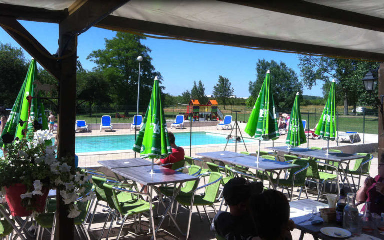 Restaurant et bar au camping d'Andance