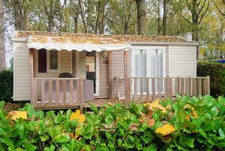 Location de mobil-home 4-6 personnes en Ardèche Verte