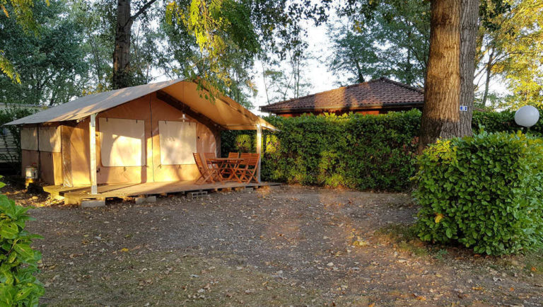 Location de tente lodge en Ardèche Verte